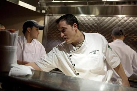 The place is manned by the same chef as the original, Gabe Cheung.